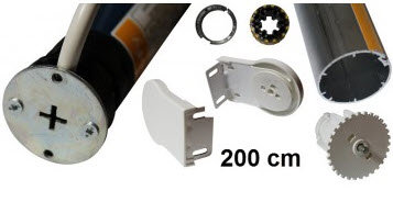 Sonesse WT rolgordijn kit max 200 cm breedte