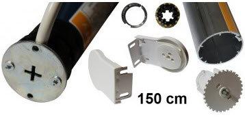 Sonesse WT rolgordijn kit max 150 cm breedte