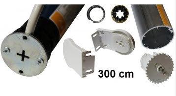 Sonesse WT rolgordijn kit max 300 cm breedte