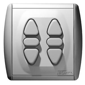 Inis Duo voor 2 buismotoren - vast punt