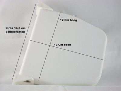 Selve bandopwinder voor binnen - cremé wit
