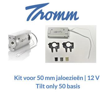 Kit voor 50 mm jaloezieën | 12 V | Tilt only 50 basis