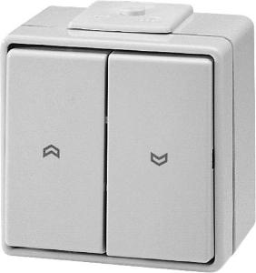 Somfy opbouw drukschakelaar -1800007